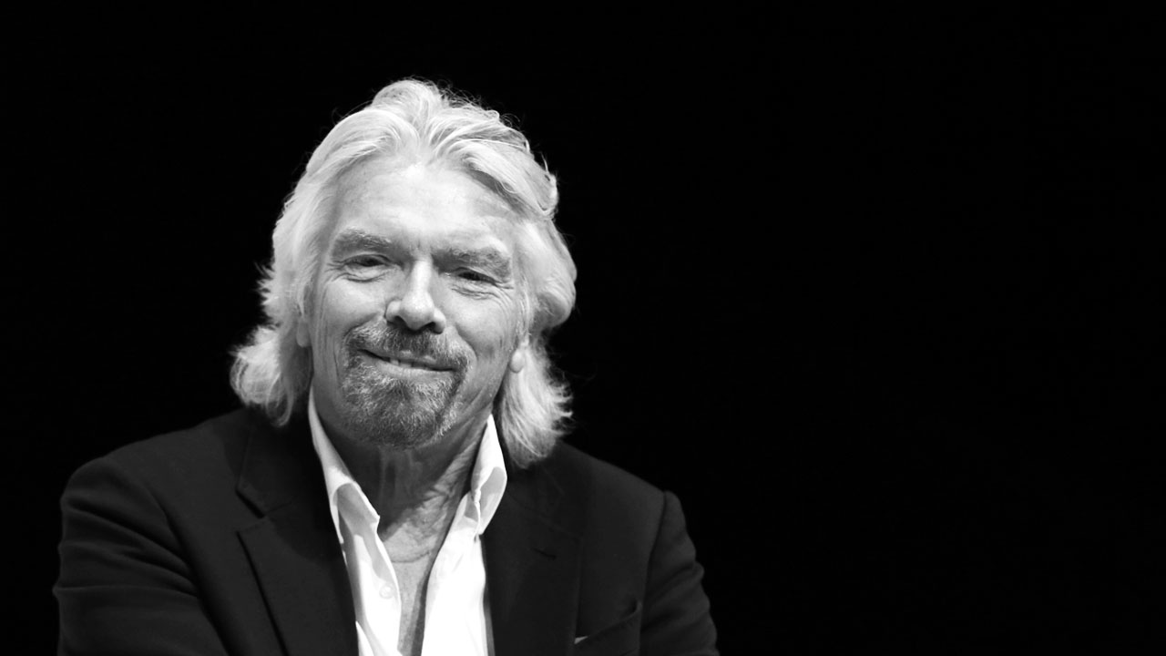 Richard Branson on Challenges: It's More Fun Being David Than Goliath